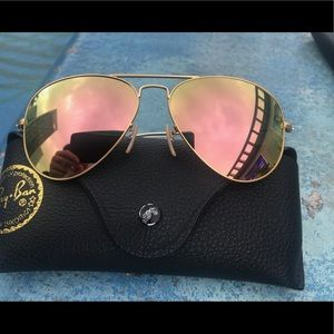 Ray ban aviators sunglasses 58mm